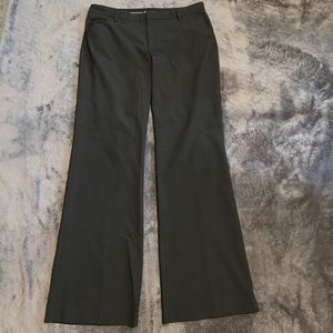 Gap Perfect Trousers Stretch Black Flat Front Pant